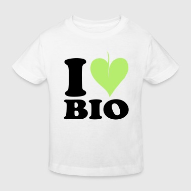 I love Bio - Økologisk T-skjorte for barn