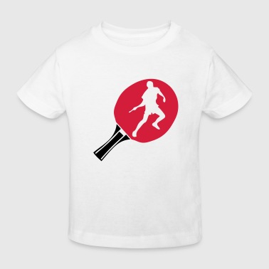 raquette racket tennistable pingpong - T-shirt bio Enfant