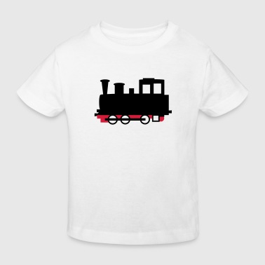 Locomotive à vapeur - Locomotive - V2 - T-shirt bio Enfant
