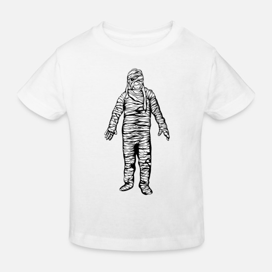 Carneval Baby Clothes - mummy - Kids' Organic T-Shirt white