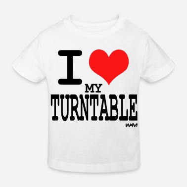Turntable turntable - Kinderen bio T-shirt