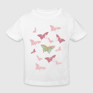 Animal Planet Butterfly Swarm - Organic børne shirt