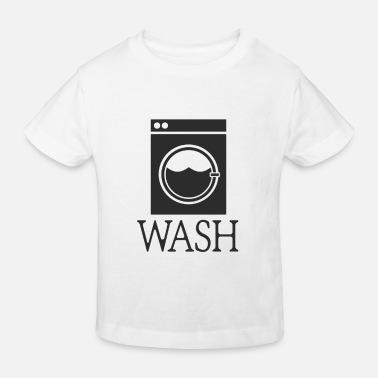 Wash wash washing machine gift washing machine - Kids' Organic T-Shirt