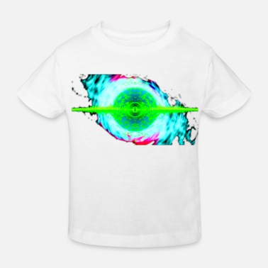 Jumpstyle TechnoArt Visualisierung rave nation two - Kinder Bio T-Shirt