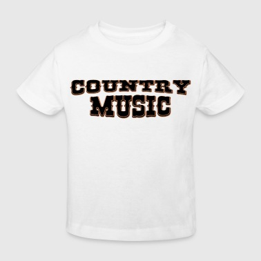 country music - Kinder Bio-T-Shirt