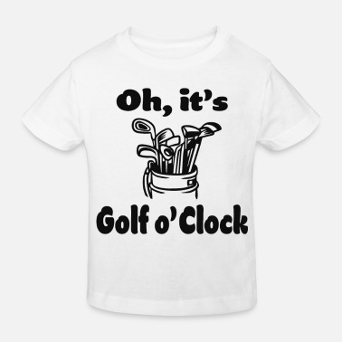 Golf Golf golfer golfers sayings - Kids' Organic T-Shirt