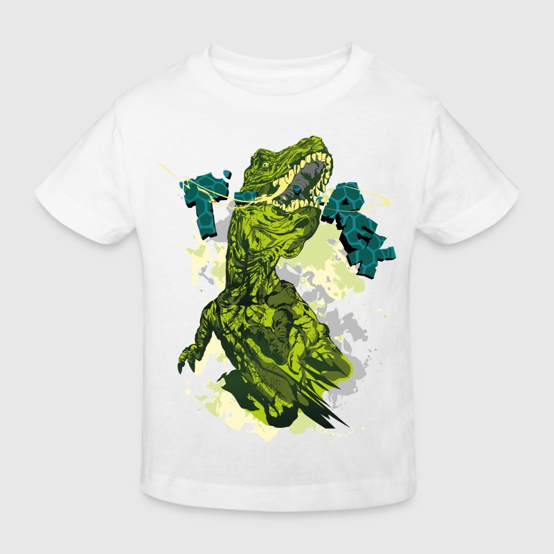 Official Animal Planet Design 'T-Rex' - Organic børne shirt