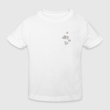 Diamanten - Kinder Bio-T-Shirt