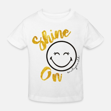 SmileyWorld Always shine on - Ekologisk T-shirt barn
