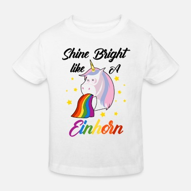 Shine Like A Unicorn Shine bright like a unicorn JGA - Kids' Organic T-Shirt