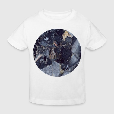 Marble AD Blue Moon Marble - Kids' Organic T-Shirt