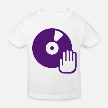 Turntable Vinyl - Turntable - Kinderen bio T-shirt
