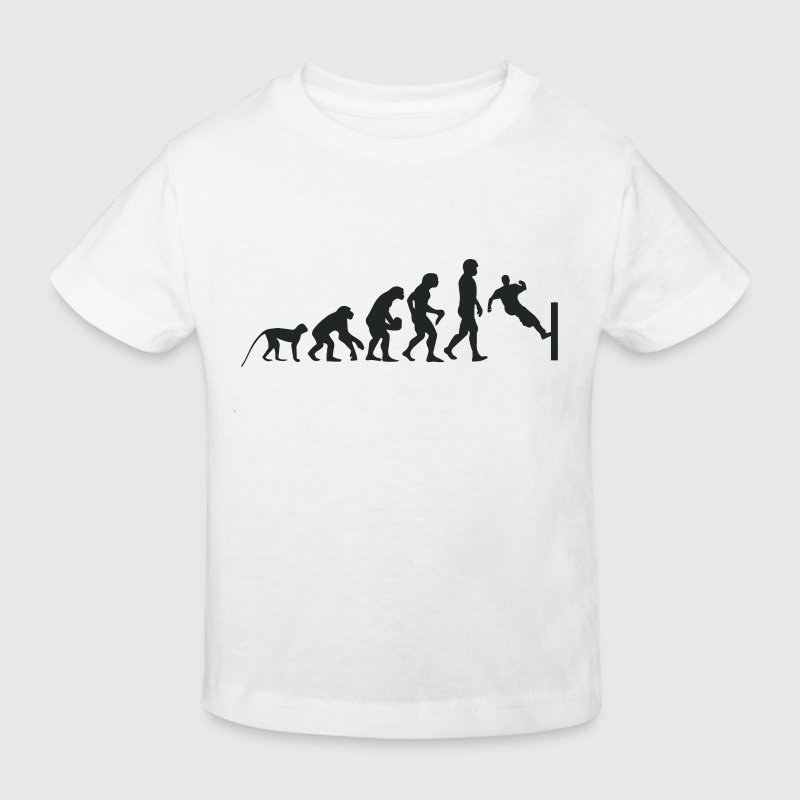 Evolution Parcour - Kinder Bio-T-Shirt