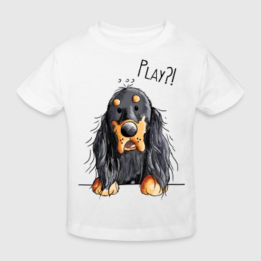 Gordon Setter Play Gordon Setter - Dog - Dogs - Gift - Kids' Organic T-Shirt