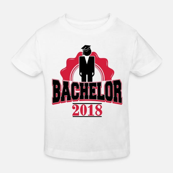 Lecture Baby Clothes - 2018 - Bachelor degree master-student-school - Kids' Organic T-Shirt white