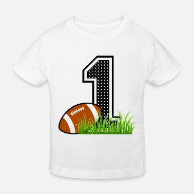 First Birthday - Kids' Organic T-Shirt