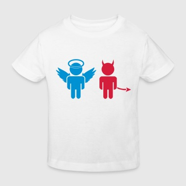 angel and devil - Kinder Bio-T-Shirt