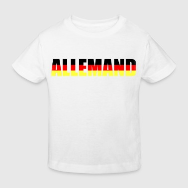 allemand - Kinder Bio-T-Shirt