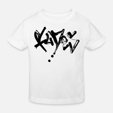 Tag Street-Art-Graffiti-Tag - Kinder Bio T-Shirt