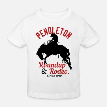 1910 Pendleton Roundup & Rodeo Since 1910 - Kids' Organic T-Shirt