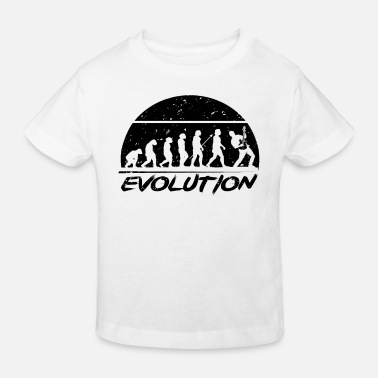 Bass Player Evolution Gitarrist Gitarre - Kinder Bio T-Shirt