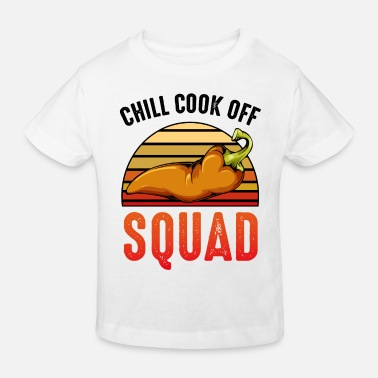 Chili Chili chili pepper - Kids' Organic T-Shirt