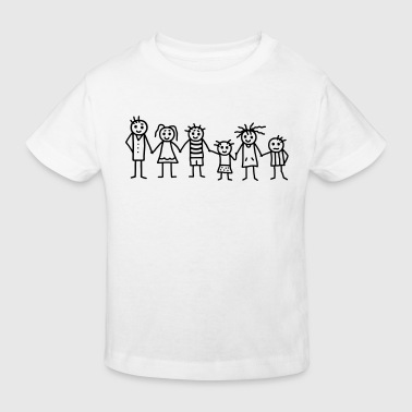 Great family - Patchwork Family - Kids' Organic T-Shirt