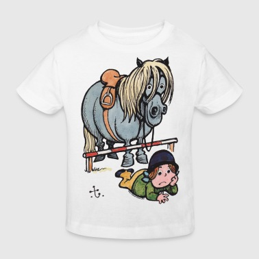 Thellwell Cheval Saut D'Obstacles - T-shirt bio Enfant