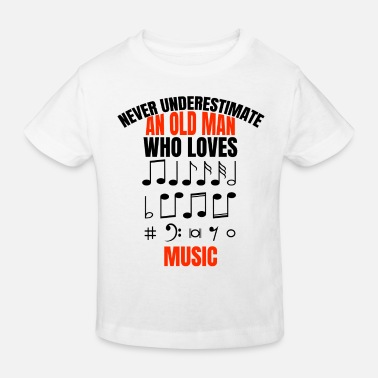 Chant Music Dad Man Band Orchestra Musician Father Music - Kids' Organic T-Shirt