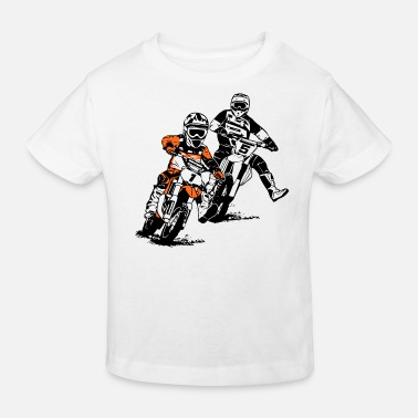 Enfants Motocross Enfants - KIDS MX - T-shirt bio Enfant