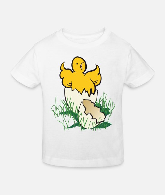 Chicken Baby Clothes - chicken26 - Kids' Organic T-Shirt white