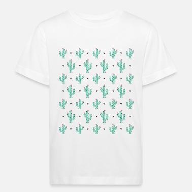 5514fb69e Patrón Cactus como un patrón - Camiseta orgánica niño