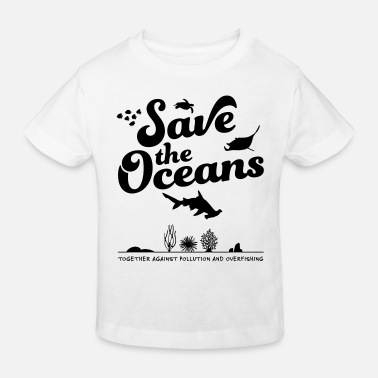 Tierschützer Save the Oceans - Kinder Bio T-Shirt
