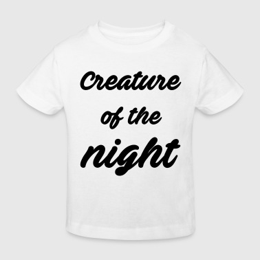 Picture Creature of the night - Kids' Organic T-Shirt