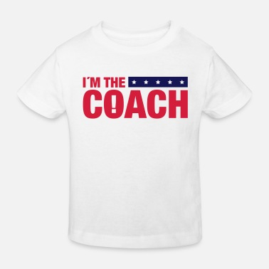 Basketball im_the_coach_ya2 - Kids' Organic T-Shirt
