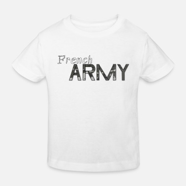 Army french army - Camiseta orgánica niño