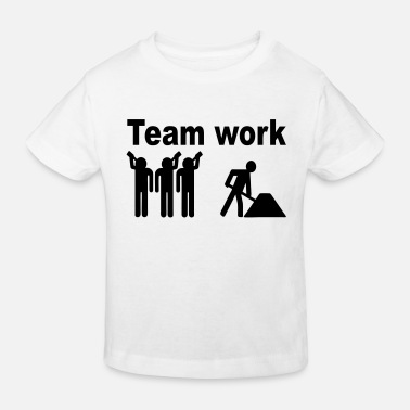 Worker work - Ekologisk T-shirt barn