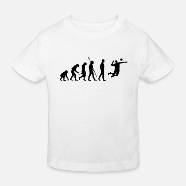 Beach Volleyball Beach Volleyball Evolution - Kids' Organic T-Shirt