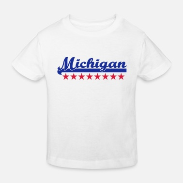 Michigan michigan - Ekologisk T-shirt barn