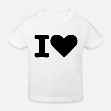 Tlc I Love - Kids' Organic T-Shirt