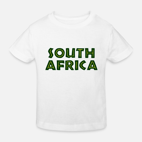 South Africa Baby Clothes - South Africa - South Africa - Johannesburg Cape Town - Kids' Organic T-Shirt white