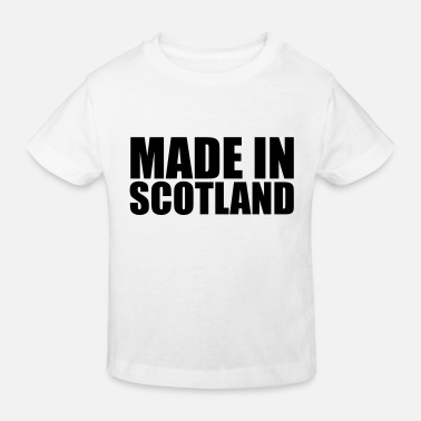 Germany made in scotland 01 - Kids' Organic T-Shirt