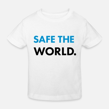 safe the world - Kinder Bio T-Shirt