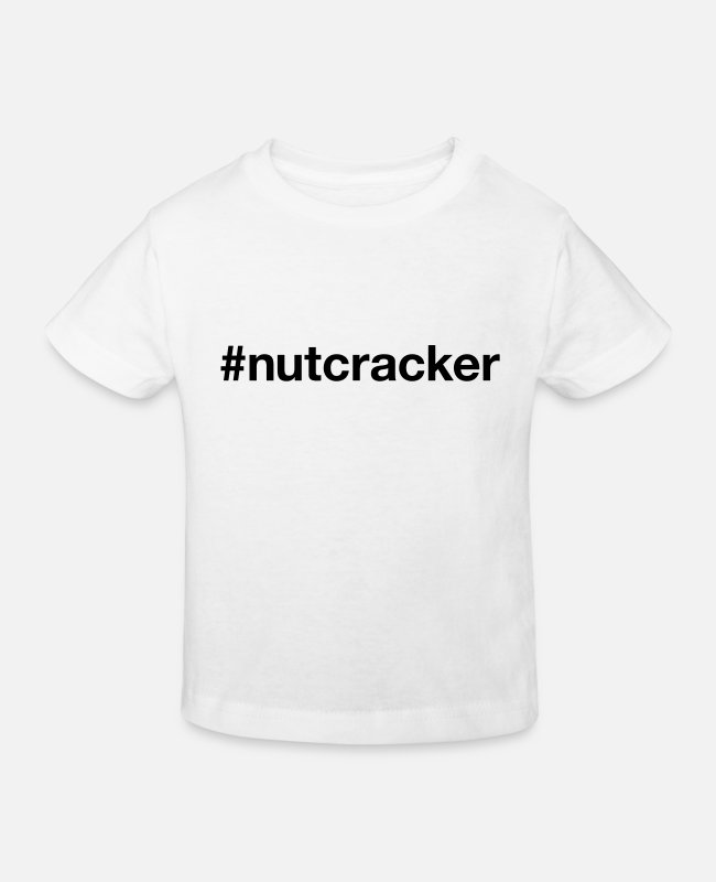 Hashtag T-Shirts - NUTCRACKER - Kids' Organic T-Shirt white