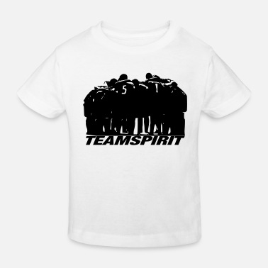 Team Spirit team Spirit - Kids' Organic T-Shirt
