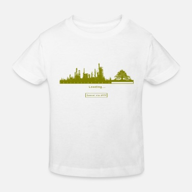 FFF Fridays For Future Green Greter Gift Eco - Kids' Organic T-Shirt
