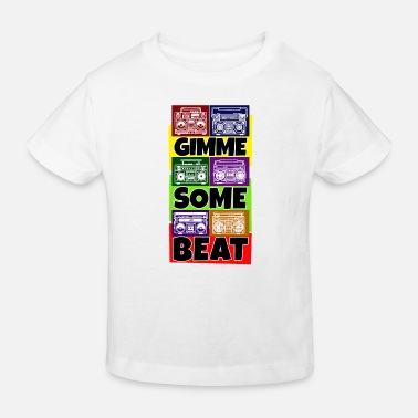 Rappeur Hip Hop Beat Deutschrap Breakdance DJ Graffiti MC - T-shirt bio Enfant