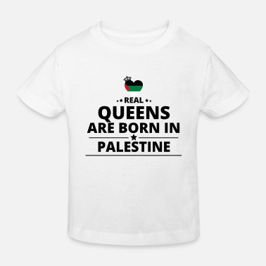 Palestina GIFT QUEENS LOVE FROM PALESTINE PALESTINA - Kids' Organic T-Shirt