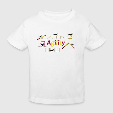 Agility equipment with Titel.png - T-shirt bio Enfant