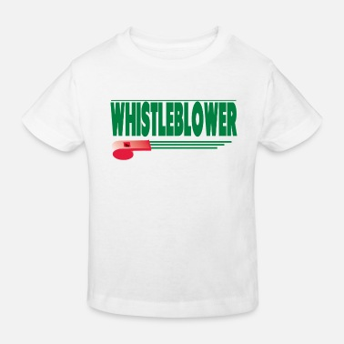 Nwo Whistleblower - Kinder Bio T-Shirt